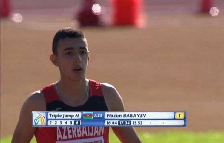 Nazim Babayev Nazim Babayev wins gold at European Athletics Junior
