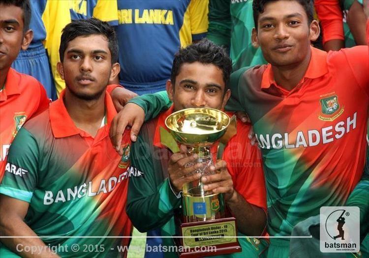 Nazmul Hossain Shanto Bangladesh U19 rebound to win the series 32 Batsman Cricket