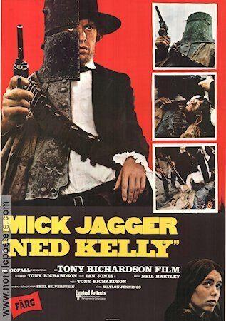 Ned Kelly (1970 film) Ned Kelly poster 1970 Mick Jagger director Tony Richardson original