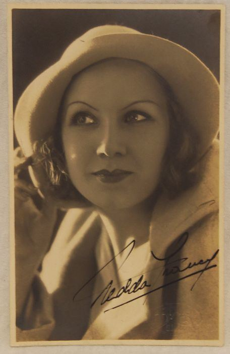 Nedda Francy auctionaacsautographscom Nedda Francy 1908 1982 Autographed