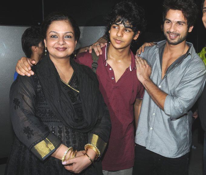 Neelima Azeem Neelima Azeem exwife of Pankaj Kapoor and mother of