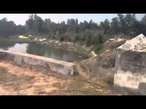 Nehtaur Nehtaur Gagan river converted to dump yard YouTube