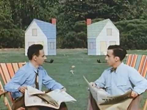 Neighbours (1952 film) Neighbours 1952 Academy Awardwinning Short Film by Norman