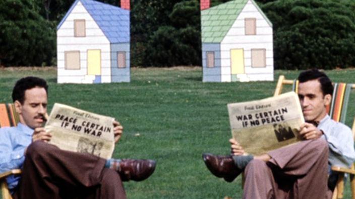Neighbours (1952 film) Neighbours and Norman McLaren Droste Effect Mag
