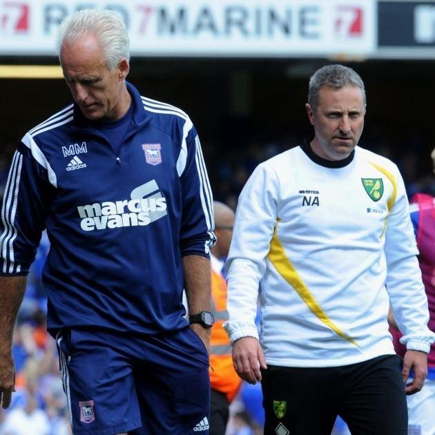 Neil Adams (footballer) REACTION Ipswich Town boss Mick McCarthy says Neil Adams