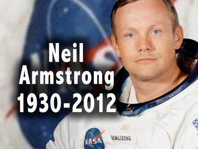 Neil Armstrong Ohioan Neil Armstrong 1st man on the moon dies at 82