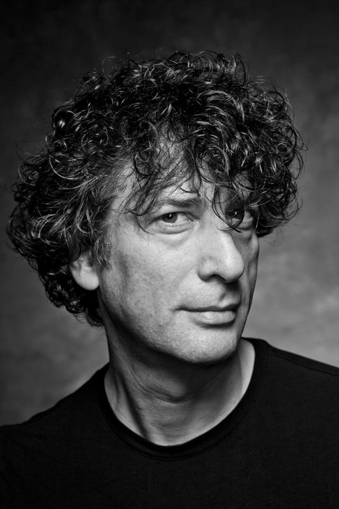 Neil Gaiman THE BACKSTAGE RIDER EXCLUSIVE PhotosInterview Portrait