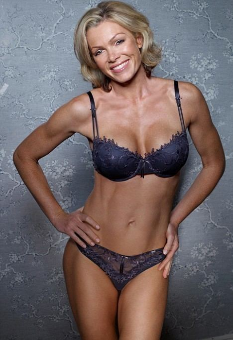 Nell McAndrew Nell McAndrew bares her gymhoned body in a revealing