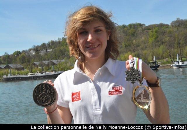 Nelly Moenne Loccoz Sportiva le sport au fminin