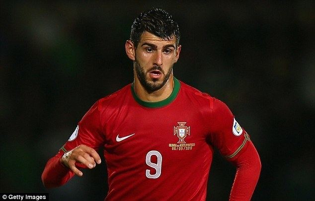 Nelson Oliveira Swansea complete loan signing of Portugal international
