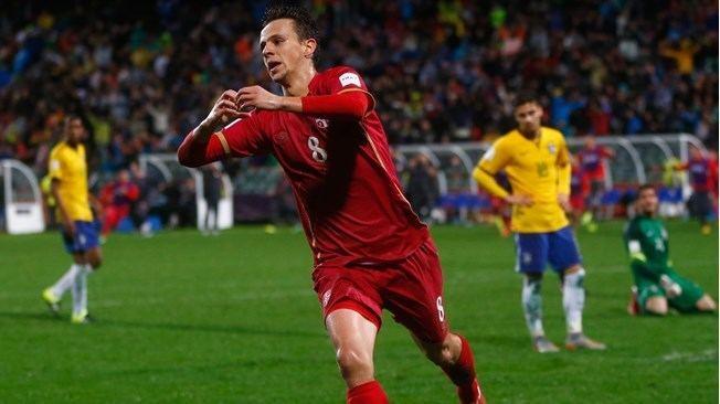 Nemanja Maksimovic FIFA U20 World Cup New Zealand 2015 Matches Brazil