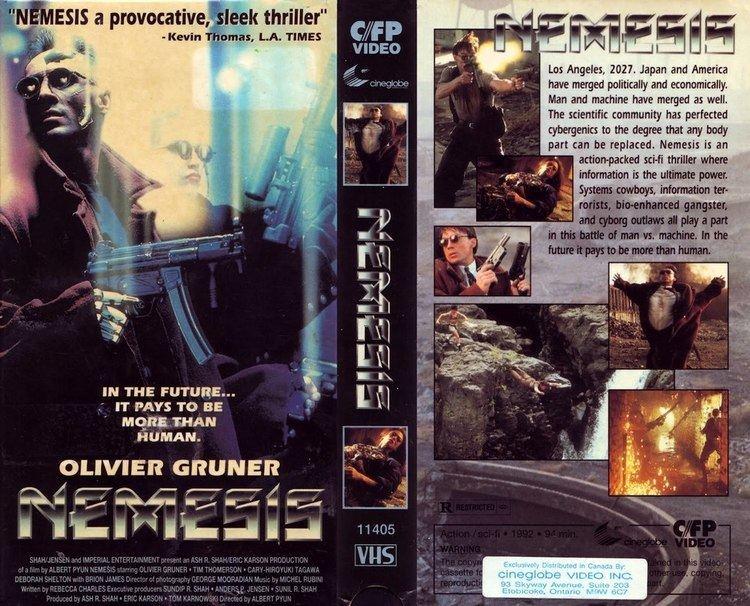 Nemesis (1992 film) Nemesis 1992 Nemesis 1992 NewRetroWave Stay Retro Live The