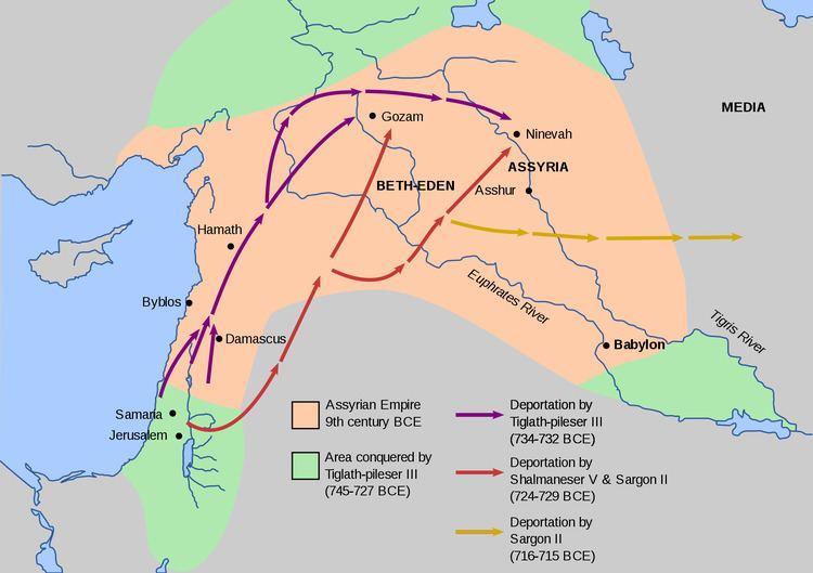 Neo-Assyrian Empire NeoAssyrian Empire Wikipedia the free encyclopedia