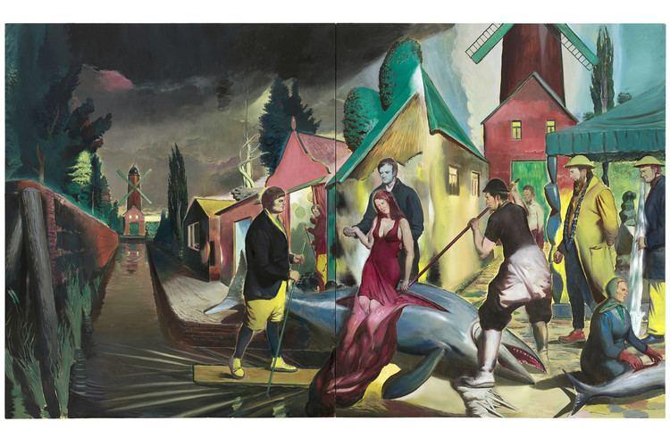 Neo Rauch Neo Rauch Exhibition Opens at David Zwirner Gallery WSJ