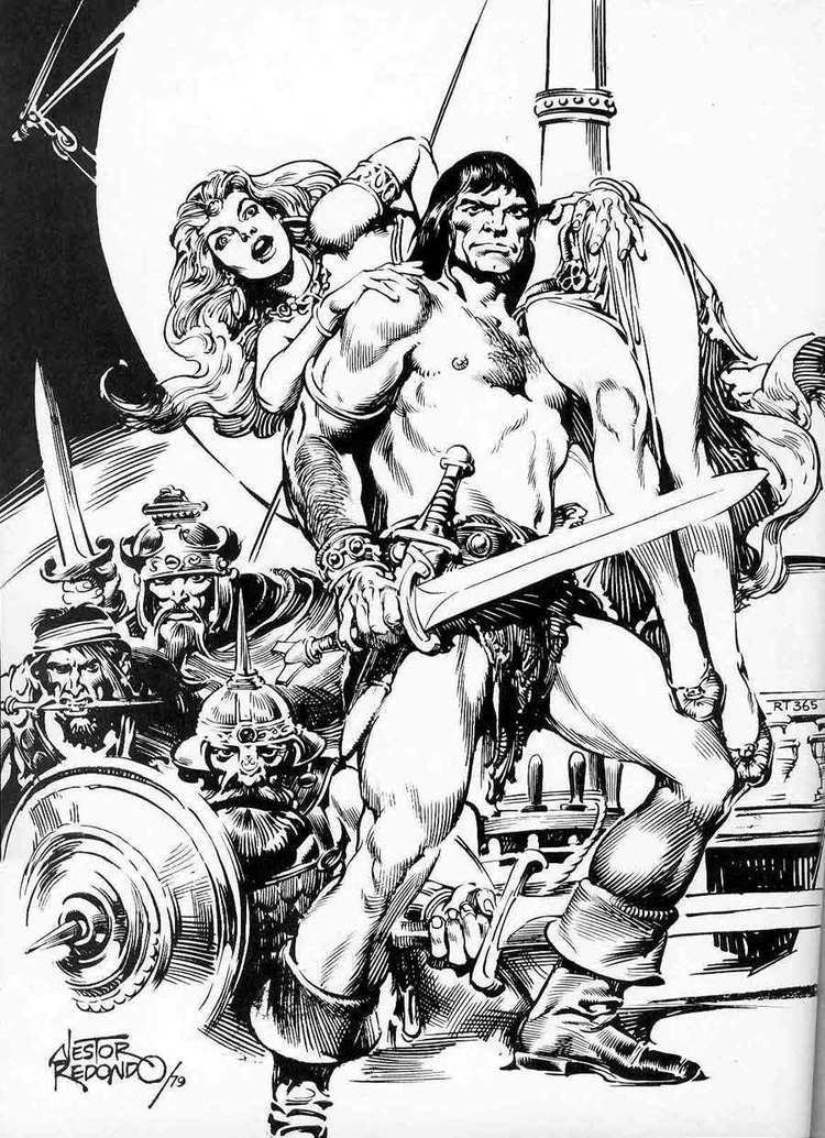 Nestor Redondo Pencil Ink a blog featuring golden silver and bronze age