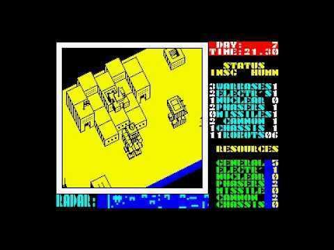 Nether Earth Nether Earth for ZX Spectrum YouTube