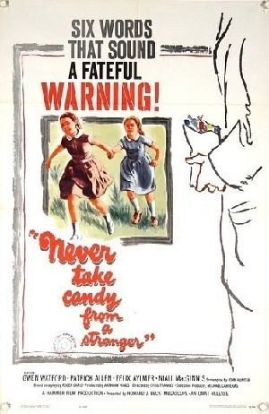 Never Take Sweets from a Stranger HAMMER THONGS NEVER TAKE SWEETS FROM A STRANGER Cyril Frankel 1960