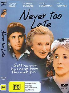 Never Too Late (1997 film) movie poster
