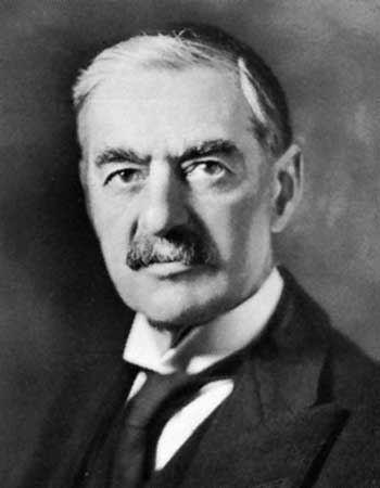 Neville Chamberlain Neville Chamberlain prime minister of United Kingdom