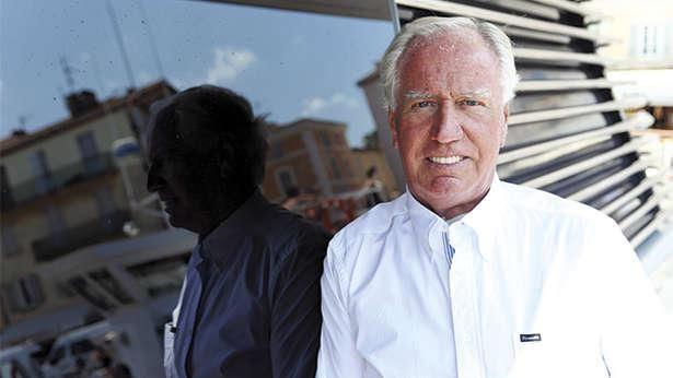 Neville Crichton Lunch with superyacht owner Neville Crichton Boat
