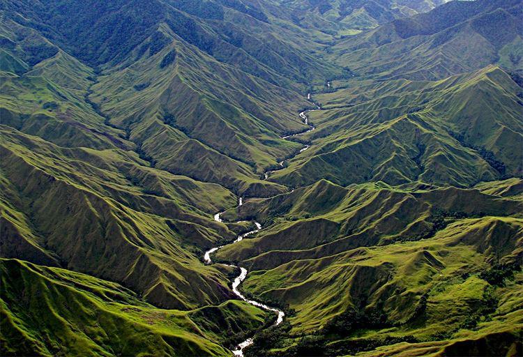 New Guinea Beautiful Landscapes of New Guinea