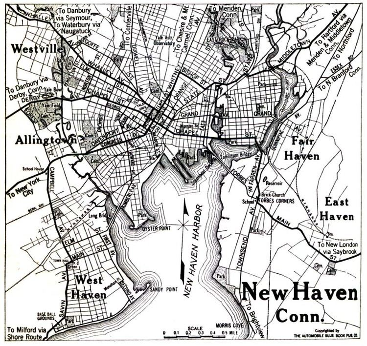 New Haven, Connecticut in the past, History of New Haven, Connecticut