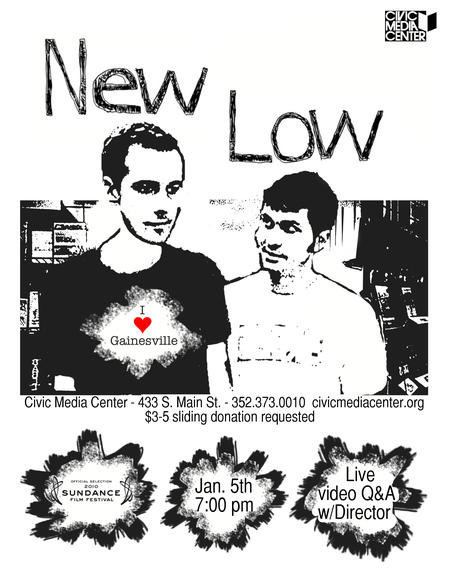 New Low New Low Film Screening and Live Video Q A w Director Adam Bowers