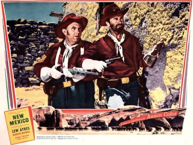 New Mexico (film) NEW MEXICO 1951 Comic Book and Movie Reviews