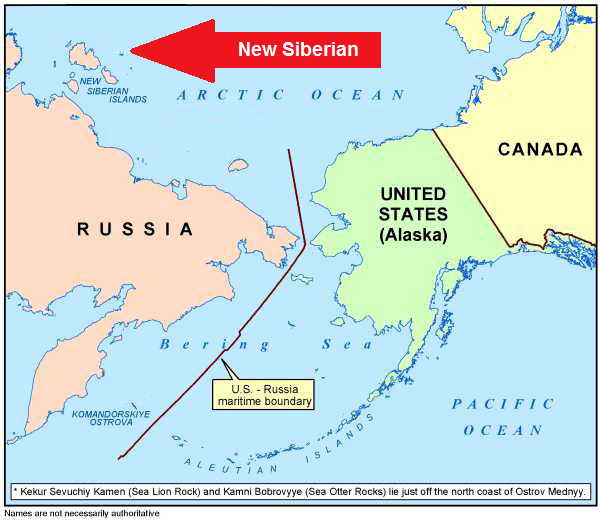 New Siberian Islands Temperate Climates at the Poles Genesis Park