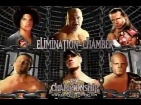 New Year's Revolution (2006) WWE New Year39s Revolution 2006 match card YouTube