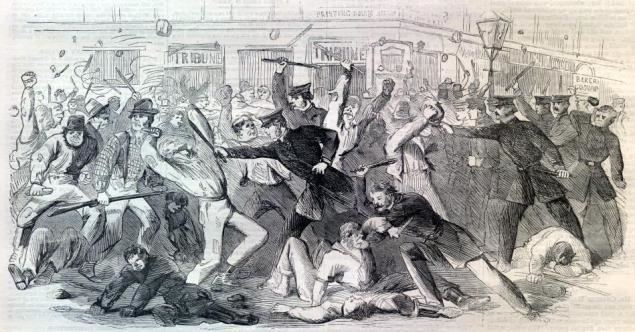 New York City draft riots White Riot Why the New York Draft Riots of 1863 Matter Today