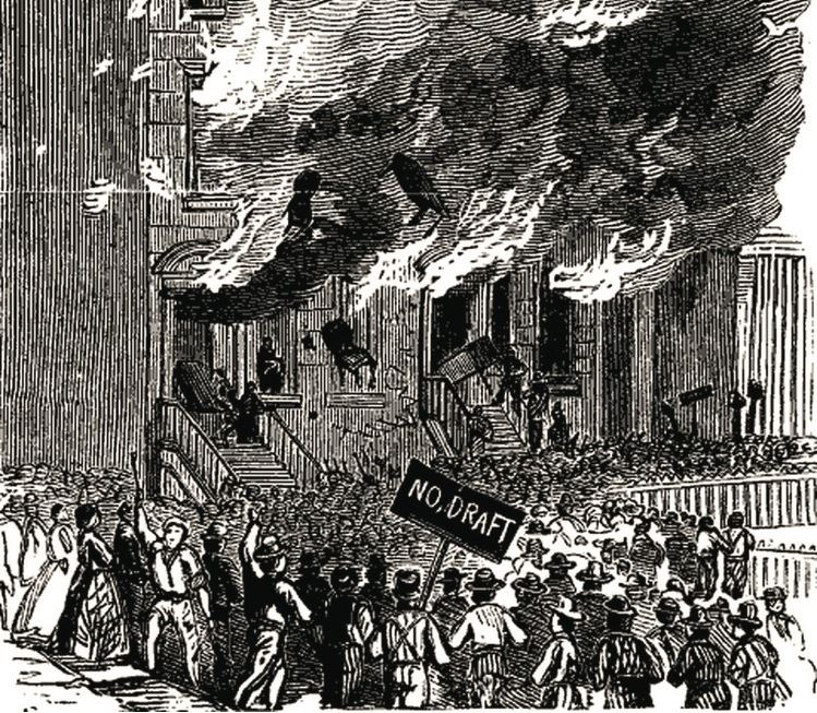 New York City draft riots On This Day 1863 The New York City Draft Riots Notes From The