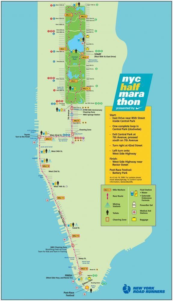 Map Of New York Marathon 2017.New York City Half Marathon Alchetron The Free Social Encyclopedia