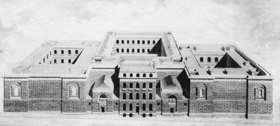 Newgate Prison Background Prisons and Lockups London Lives