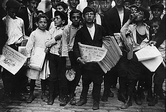 Newsboys' strike of 1899 Newsies vs the World The Newsboys Strike of 1899 The Bowery Boys