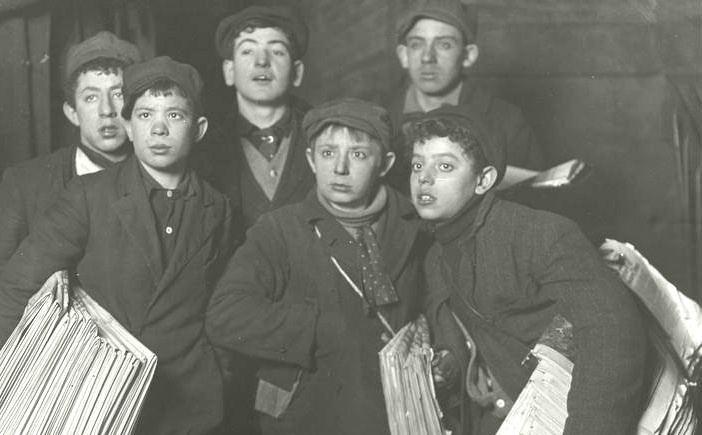 Newsboys' strike of 1899 The New York newsboys39 strike of 1899