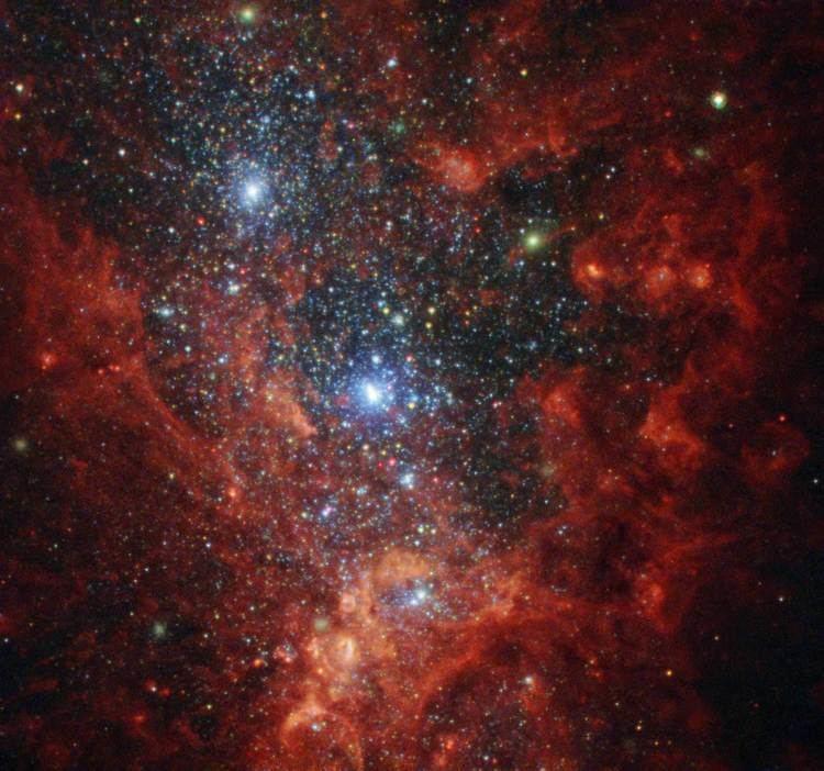 NGC 1569 NGC 1569 Hubble Probes Interior of Small StarForming Galaxy
