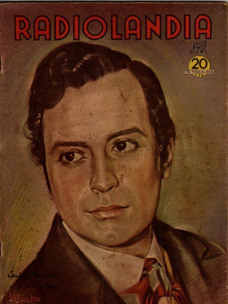 Ángel Magaña Radiolandia Angel Magaa Abril 1944 5500 en Mercado Libre