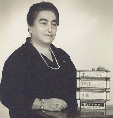 Ángela Ruiz Robles La espaola que invent el libro mecnico y anticip el ebook ABCes