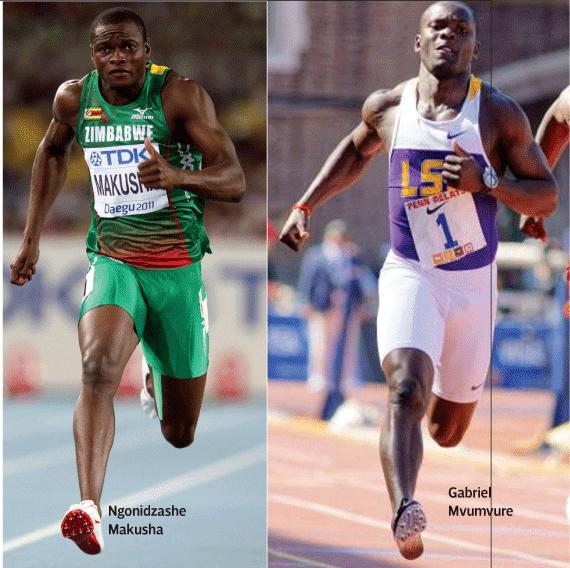Ngonidzashe Makusha Mvumvure Makusha for World Indoor champs Southern Eye