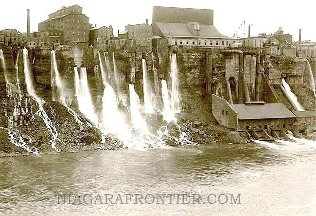 Niagara Falls, New York in the past, History of Niagara Falls, New York