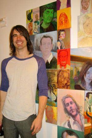 Nic Rad Artist Nic Rad On His Media Portraits PeopleMatter PAPERMAG