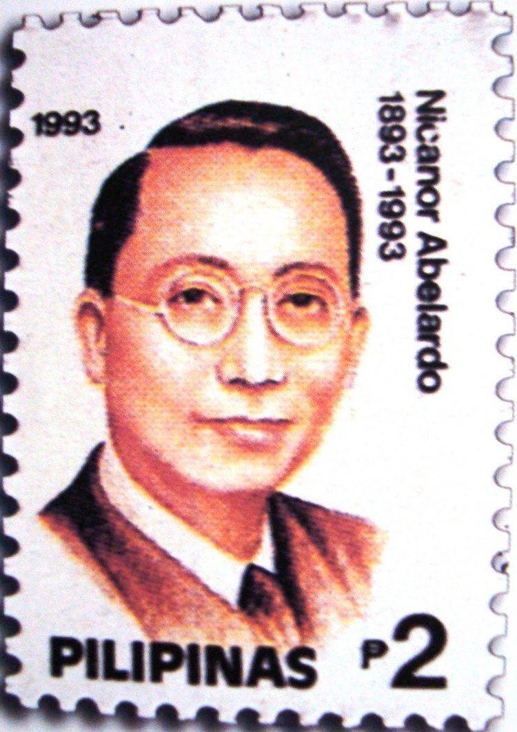 Nicanor Abelardo Amused Of Pasig Nicanor Abelardo Creator of quotMutya Ng