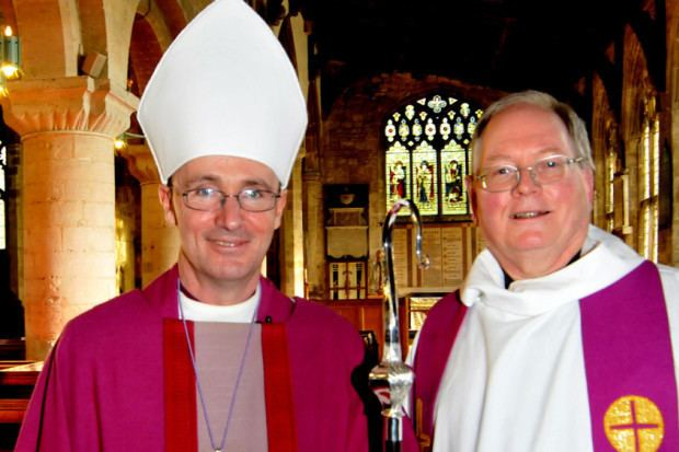 Nicholas Chamberlain Bishop has first trip and first service in South Holland Fenland
