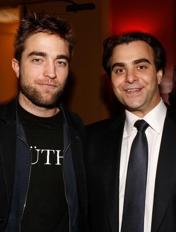 Nicholas Jarecki Pin Richard Gere Robert Pattinson And Nicholas Jarecki At