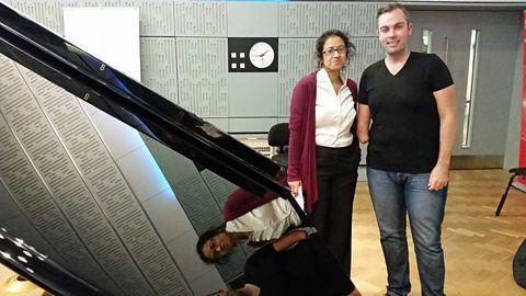 Nicholas McCarthy (pianist) BBC Radio 4 Front Row Mark Ruffalo Monty Python