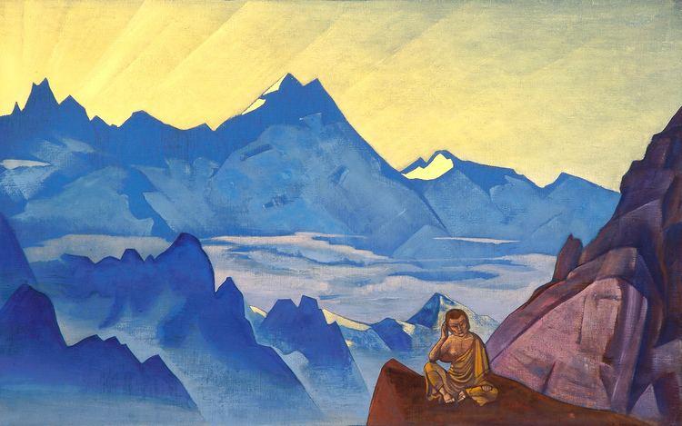 Nicholas Roerich Milarepa the One Who Harkened Nicholas Roerich