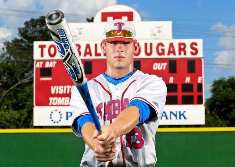 Nick Banks (baseball) High school baseball player of the year Tomball39s Nick Banks
