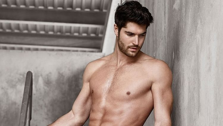 Nick Bateman (model) Nick Bateman Models Underwear for Simons CoverMen Mag