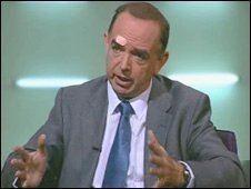Nick Bourne BBC NEWS UK Wales Tory apology over Morgan mockery